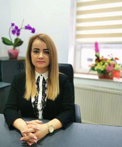 d-na Gabriela-Mihaela Mihuț - secretarul general al comunei Șiria