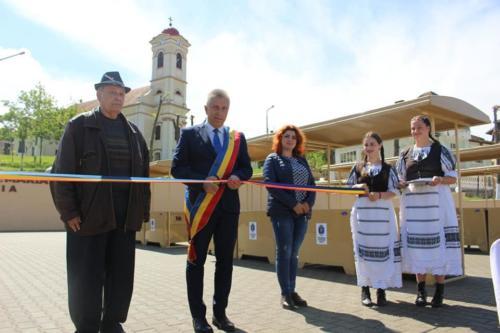 Inagurarea Pieței Sf Maria Șiria 01.06.2021