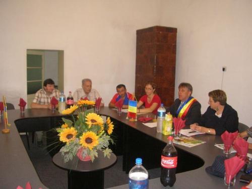 Vizita delegatie franceze din Bouguenais - Franța